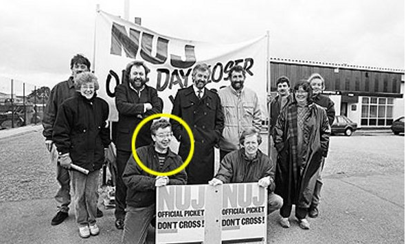 Michael Gove Determined to Find this Striking Militant