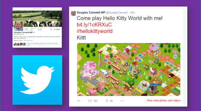 Play Hello Kitty with Douglas Carswell MP
