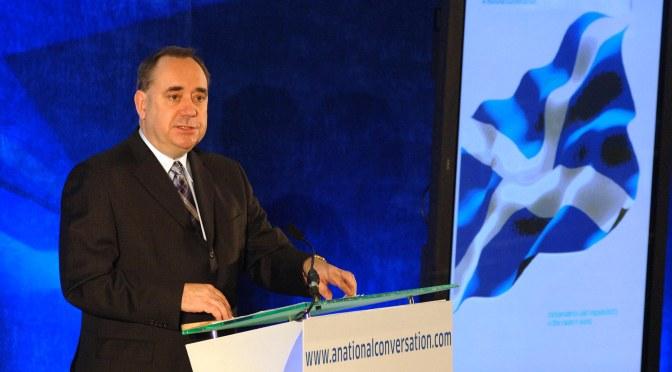 Where's Alex Salmond?