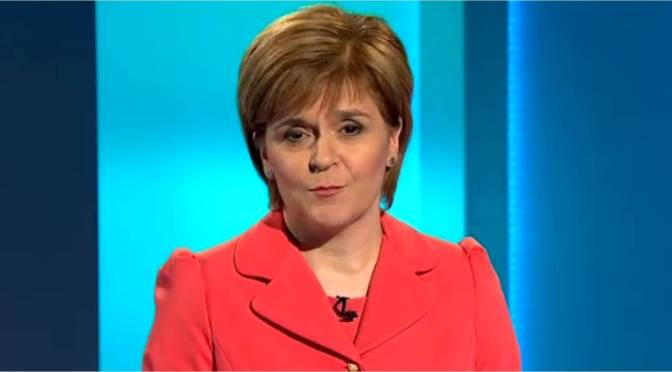 Sturgeon Surprising in TV Leaders Debate
