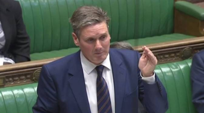 Labour's Keir Starmer Plans Soft Brexit
