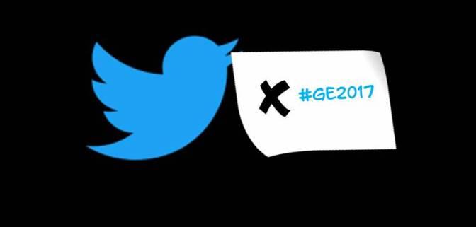 Twitter Kills Hashtag #GE17
