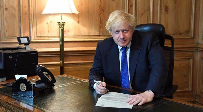 The End for Boris Johnson?