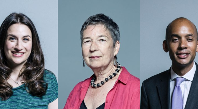 The Labour MPs in The Independent Group.